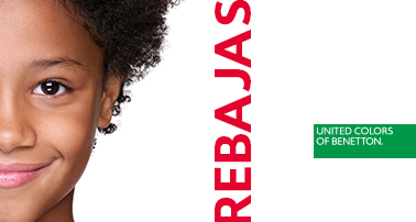 Benetton kids comienza sus rebajas el 21 de junio