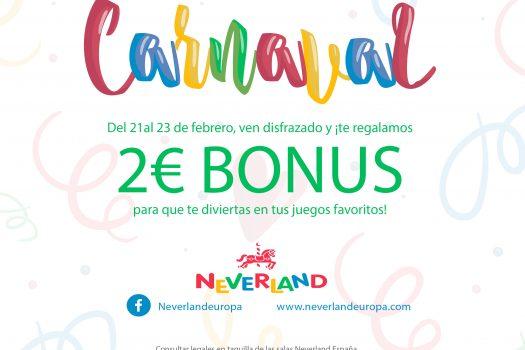 Carnaval en Neverland