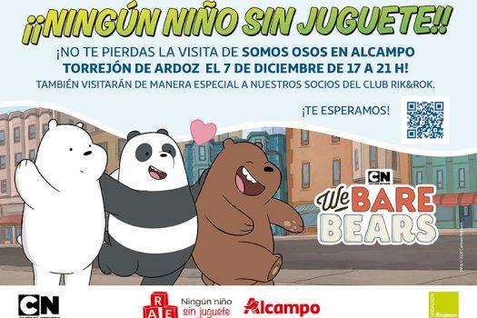 Campaña de recogida de juguetes de Alcampo con la colaboración de Cartoon Network