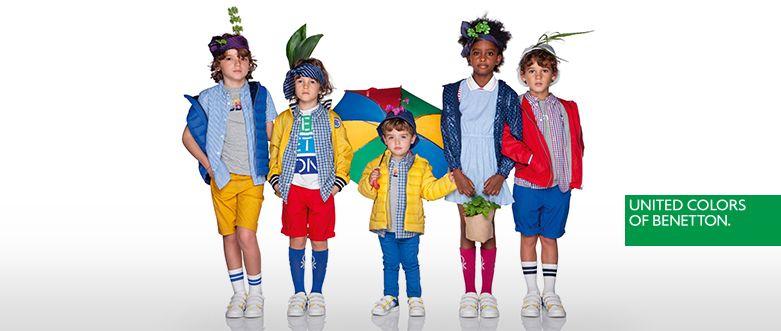 Campaña de primavera Benetton kids