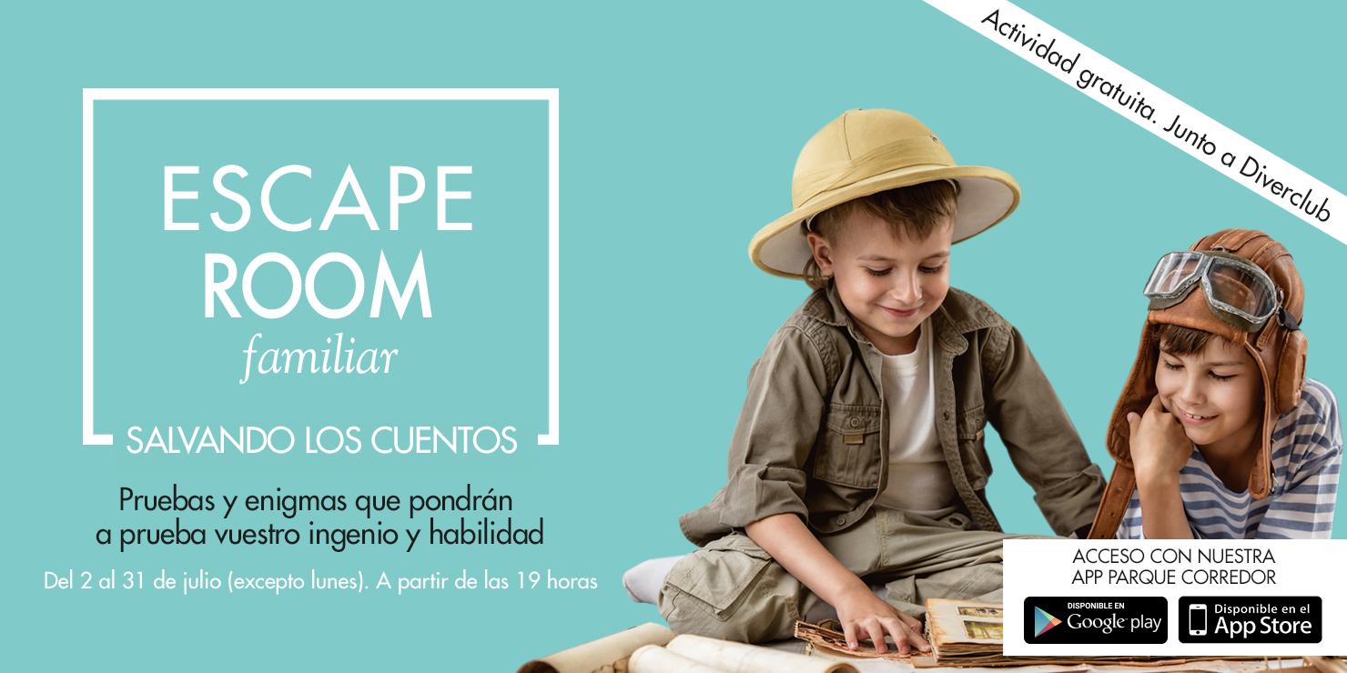 Parque Corredor organiza una Escape Room familiar