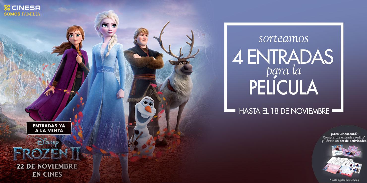 Sorteamos entradas para ver Frozen II