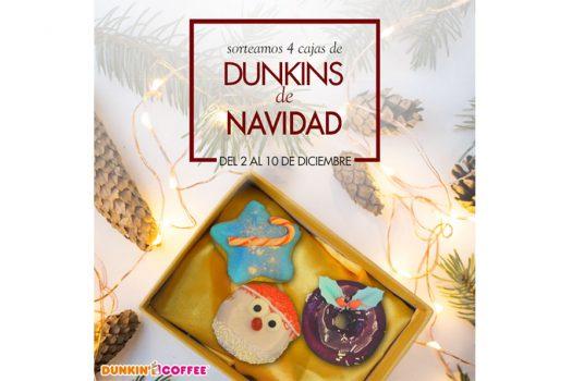 Sorteamos las tres variedades de Dunkins navideños