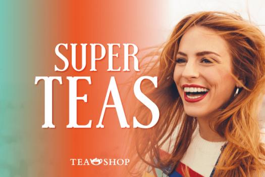Tres nuevas novedades de té con vitaminas y superalimentos en Tea Shop