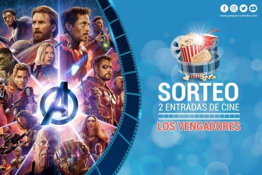 Parque Corredor sortea entradas para ver Vengadores: Endgame en Cinesa